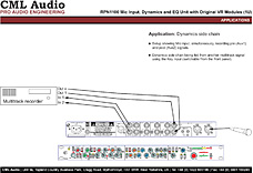 RPN1100 - Dynamics side chain connections