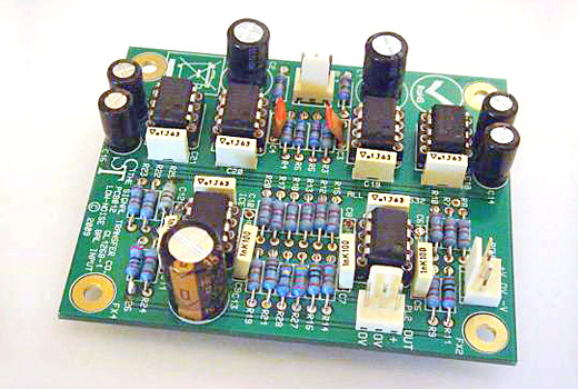 STC012 Low Noise Input Module (Balanced)