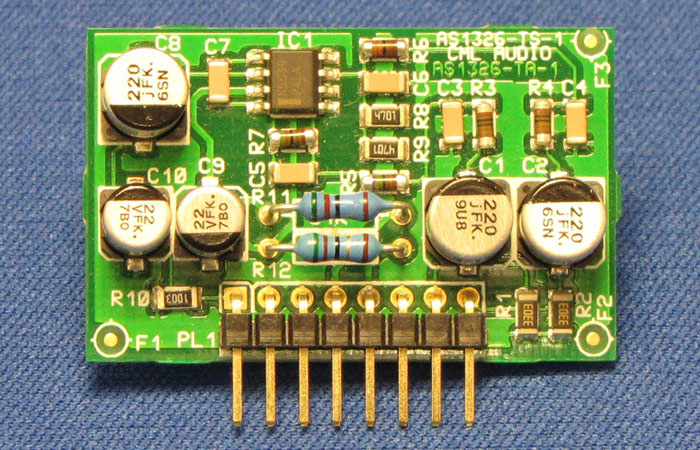 AS1326 Single Balanced Input Card