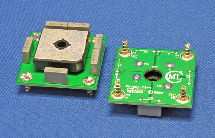 PSU Compact Rectifier and Snubber Cap Card