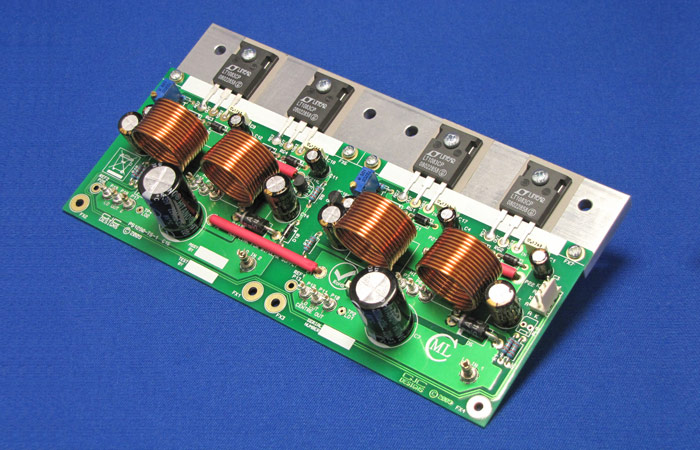 15A Bipolar Regulator Card with LT1083