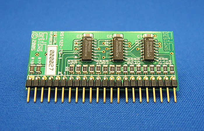 CMOS Analogue Routing Card